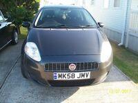 FIAT GRANDE PUNTO 2008 1242 cc petrol.3 DOOR