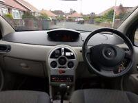 Renault Modus 1.6 Automatic petrol, low mileage 59k miles £1300ovno
