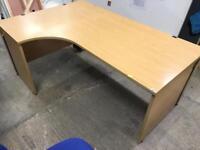 1800mm Left Hand office corner desk