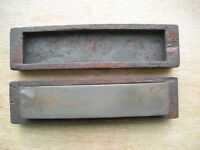 """Oilstone 8"""" (used) in wooden casing (Collect Only)"""