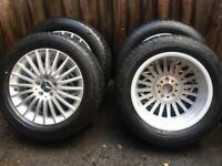 """17"""" 18"""" Mercedes Benz Vito Viano V Class Alloy Wheels Conti Tyres"""