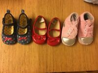 Exellent condition baby girls shoes