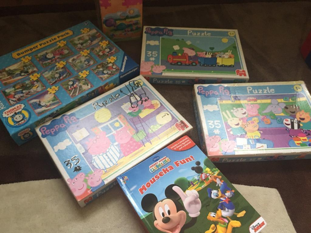 Children's jigsaws toys