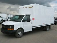 2015 Chevrolet Express 3500 16 Foot Unicell Cube