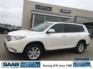 2012 Toyota Highlander V6 AWD 7 PASSENGER Kitchener / Waterloo Kitchener Area image 1