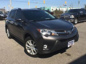 2015 Toyota RAV4 LIMITED**AWD**LEATHER**