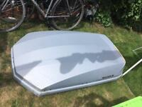 Exodus 470L Roof Box Grey