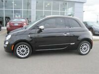 2012 Fiat 500C Lounge CONVERTIBLE WITH CUSTOM LEATHER INTERIOR