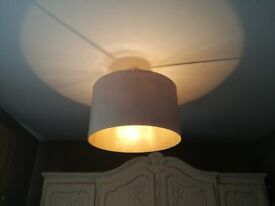Large Neutral Beige Ceiling Lampshade