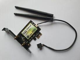 Ziyituod 3000mbps WiFi6 Bluetooth WiFi AX200 wireless network card.