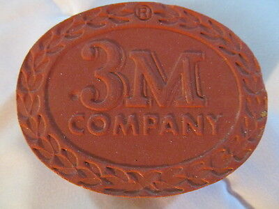 Vintage 1955 Advertising Paperweight 3M Company Minneapolis Mn. Paper Weight