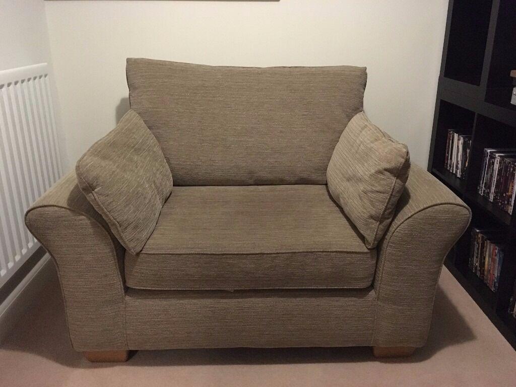Next Sonoma Cuddle Chair Love Chair Sofa In