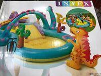 Brand new boxed intex dinoland play centre