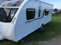 2013 Swift challenger sport 554 SR Touring caravan with awning, 4 berth, leisure battery and more