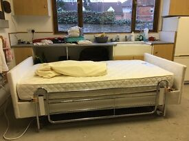 """Adjustmatic autovariable bed 3/6""""x6/6"""" in royal champagne bronze 15 months old excellent condition"""