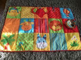 Mothercare Baby Safari Jungle Playmat