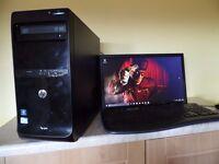 great Christmas putaway HP PRO 3500 fast intel core i3 desktop pc