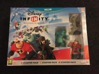 Wii u- Disney infinity starter pack