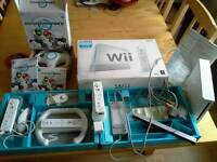 Boxed wii bundle + boxed Mario Kart