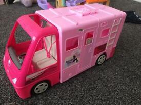 Barbie van