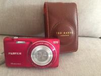 Fuji film digital camera and ted baker case