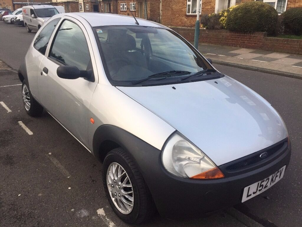ford ka 2002 silver to sell in brilliant condition in rainham london gumtree. Black Bedroom Furniture Sets. Home Design Ideas