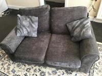 2 Seater Sofa - Grey