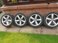 Genuine Audi vw s line alloys