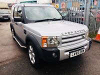 LAND ROVER DISCOVERY 3 2.7 DIESEL AUTOMATIC HSE 7 SEATERS 2005 SATNAV SUNROOF LEATHER