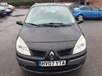 Renault Scenic 1.6 VVT Dynamique Hatchback 5dr 2007 (07 reg), MPV (30 days warranty)£1100