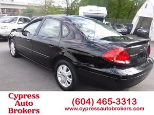 2007 Ford Taurus SEL (Leather & Sunroof)