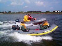 AVON 3.10 RIB and Suzuki 9.9hp Outboard