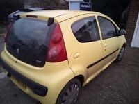 Left hand drive Peugeot 107 for sale uk registered 1.4 diesel 06 plate