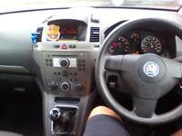 Zafira. 2006 right hand drive.