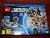 Lego Dimensions starter pack PS4, Christmas sets, starwars set, Easter Batman bunny light