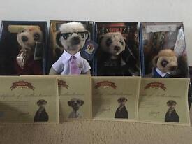 Meerkat collection x4