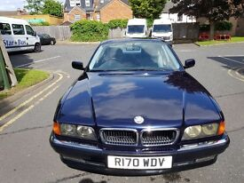 Bmw 728i auto, LOWEST MILAGE in UK, bmw e38 drift executive.