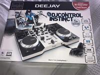 Brand new boxed dj decks
