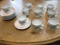 Suzie Cooper Coffee Set