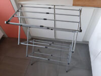 3 Tier Expanding compact folding Airer