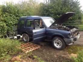 Land Rover Discovery 300TDi gearbox / used but good.
