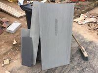 Insulated tile backer board
