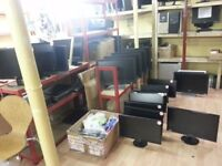 Monitors for sale 20pcs.Dell,HannsG,HP,Samsung,Acer 17'' to 23''.From£20.Read details B4 call.