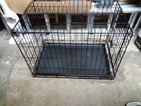 Single door dog training crate / cage