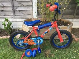 "14"" Spider-Man bike brilliant condition"