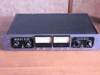 Manley elop - stereo electro optical limiter.• All-tube audio path 12AU7WA + 6414 per ch.