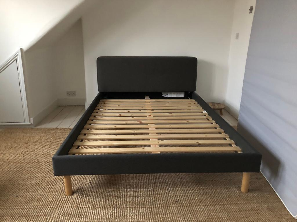 Bed 140 Cm.Habitat Fredd Bed Double 140cm In Manor House London Gumtree