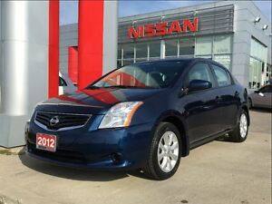 2012 Nissan Sentra 2.0, A/C, power group, rear spoiler