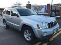 Jeep Grand Cherokee 3.0 CRD LTD, 2005, clean solid 4x4 cheapest in uk.