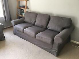 Ikea Ektrop 3 Seater Sofa Bed MUST COLLECT BEFORE 10th NOVEMBER